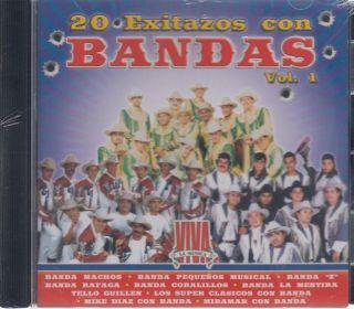 Banda Machos Banda Pequenos Banda Z Banda Rafaga Y mas CD New 20