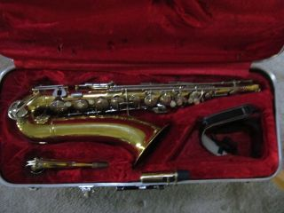 Armstrong Tenor Saxophone Sax Good Student Instrument Band Ready