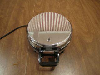 Vintage Mickey Mouse 7 Waffle Maker Baker Iron Vitantonio Mickeys