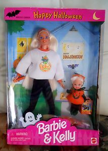 1994 Barbie & Kelly Happy Halloween Dolls Special Edition Gift Set