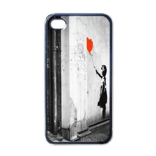 Banksy Street Art iPhone 4 Hard Plastic Case Cover