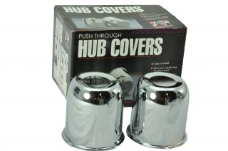 Gorilla HC200 2 Center Cap Push Through Hub Cover Dome 3.195