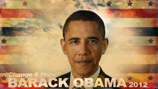 BARACK OBAMA U S PRESIDENTIAL ELECTION 2012 CHANGE HOPE POSTER