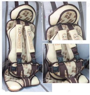 New Beige Baby/Child/Infant Car Safety Seat Auto Thick Cushion