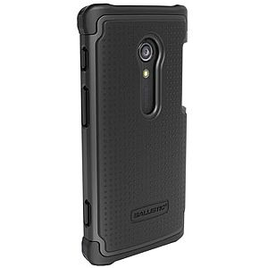 Black Ballistic SG Case for Sony Xperia Ion