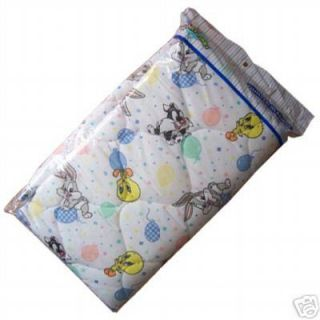 Baby Toddler Looney Tunes Quilt Crib Sheet Bed Rug Blanket Comforter