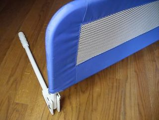 evenflo fold down soft mesh bed rail safety bedrail nr