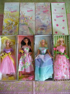 Fabulous Barbie Avon Exclusive 4 Dolls Set