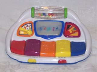 Baby Einstein Count & Compose Piano Baby Toy Lights Sounds Music
