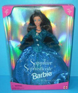 Sapphire Sophisticate Barbie 1997 Toys R US EXC 027084527384