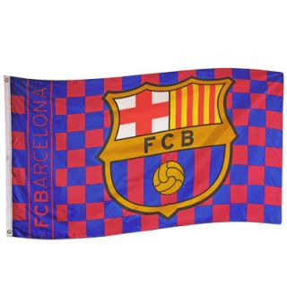 FCB Barcelona Official Large Football Club Flag New CQ