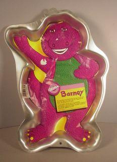 Barney Dinosaur Cake Pan Wilton TV Show Cartoon Toy 93