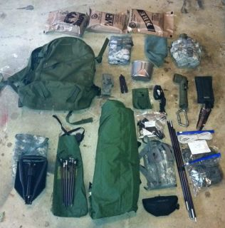 Tactical Survival Kit Go Bag Navy Seal DEVGRU Detla