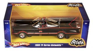 Hot Wheels Batman George Barris Batmobile Replica 1 18