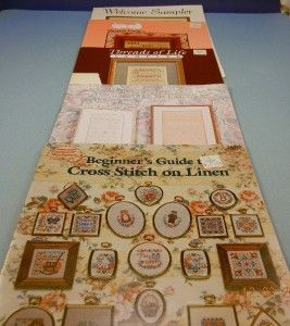 counted cross stitch patterns sampler themed