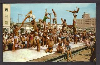Mint 1950s Muscle Beach Bodies at Santa Monica California