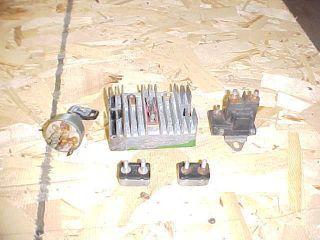 John Deere 140 Starter Solenoid Key Switch 3 Point Regulator Misc