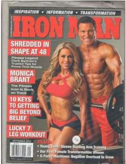 Muscle Bodybuilding Fitness Magazine Monica Brant + Clark Bartram 9 12