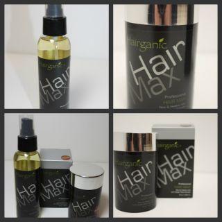 Hairganic Hair Max Color Dark Brown 25 GR Hold Fiber Spray Fills Hair