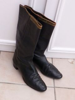 VICTORIAN CAVALRY OFFICERS LEATHER BOOTS BARTLEY SONS OXFORD ST LONDON