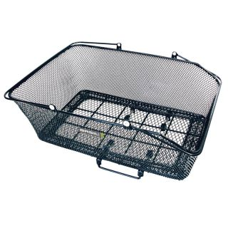 Cycles   Basil California XLarge Rear Bike Basket w/ Basco Mount Black