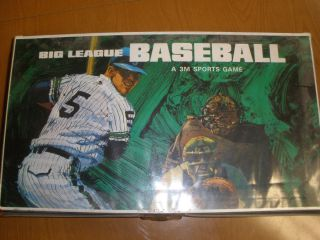 Vintage Big League Baseball Board Game   3M Sports Games   1971