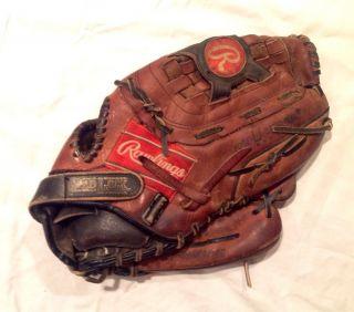 High Quality Oil Treated Leather 12 5 Baseball Glove Mitt
