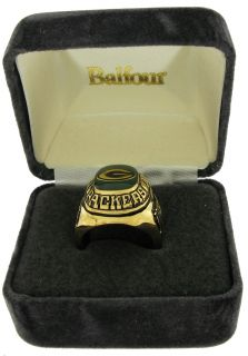 Balfour Ring Football Offical NFL Green Bay Packers Sz 7 5