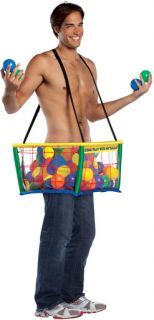 Ball Pit Costume Funny Mens Ballpit Halloween Costume
