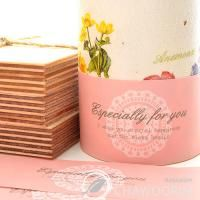 20SHEET Pink Lace Label for Soap Baking Candle Multi Purpose Gift