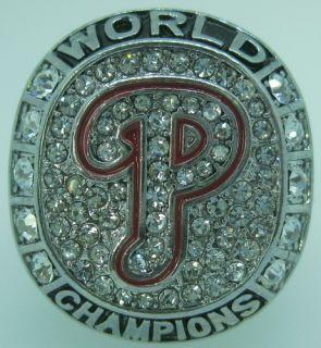 MLB 2008 Philadelphia Phillies Baseball World Series Championship Ring