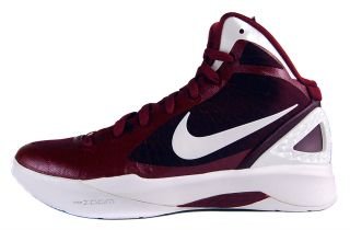 Nike Zoom Hyperdunk 2011 TB Sz 8 Mens Basketball Shoes Red/White