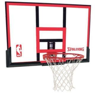 Spalding 79354 48 in Basketball Backboard Goal and Net Combo