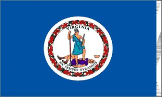 x5 Virginia State US Flag Outdoor Indoor Banner 3x5