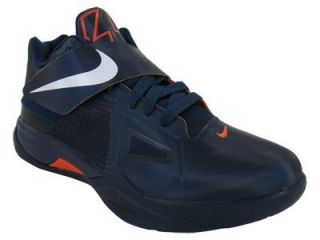 KD IV GS Durant 35 Navy New Kids Basketball Shoes Womans Shoes