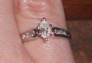 Carat Marquise Cut White Gold Engagement Diamond Ring