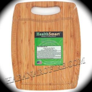 Lot of 10 Discount Bamboo Wood Cutting Boards 12 5 HealthSmart Free