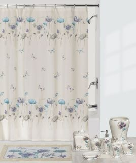 Butterflies Flowers Bath Accessories Bathroom Collection Choice