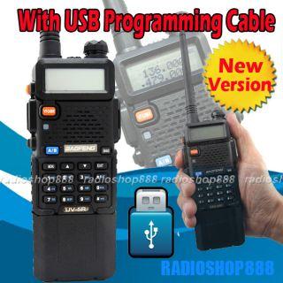 BAOFENG Dual band model UV 5R II VHF UHF Dual Band Radio NEW VERSION
