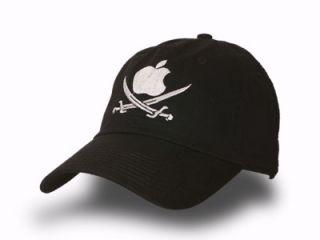 Apple Pirate Twill Baseball Ball Low Profile Cap Hat