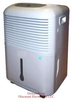 Series 65PT Low Temp Energy Star Basement Dehumidifier Save