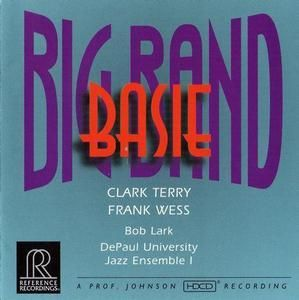 Ref Rec RR63CD Big Band Basie Clark Terry Hess OOP SS 030911106324