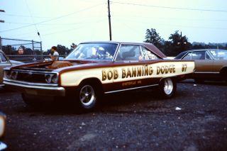 1960s Drag Racing Bob Banning Dodge 1967 Dodge Hemi