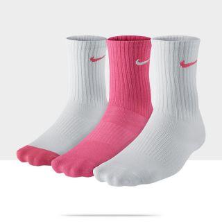 Nike Cotton Non Cushion Crew pour Enfant (8 15ans) (3paires
