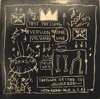 Basquiat 'Album Cover Beat Bop by Rob Rammelzee K' Andy Warhol