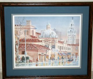 Signed Limited Edition Print by Listed Artist Barbara Burnett