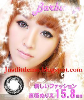 Justlittlemo blogspot com BARBIE EYE BIG CIRCLE COLORED LENS CONTACTS
