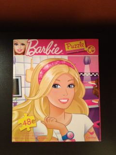 Barbie 48 Piece Puzzle Mattel Cardinal Kids Girls Games New SEALED Box