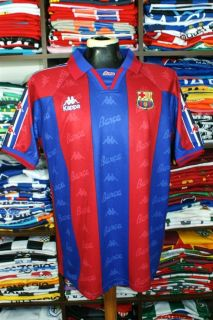Barcelona Home 1996 97 Shirt Ronaldo 9 Brazil Real Madrid Jersey