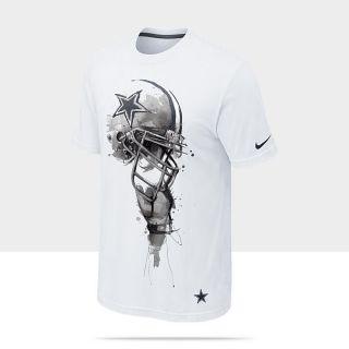 Nike Helmet Tri Blend (NFL Cowboys) Mens T Shirt